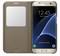 Samsung S-View pro Galaxy S7 Edge (EF-CG935P) zlaté