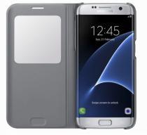 Samsung S-View pro Galaxy S7 Edge (EF-CG935P) stříbrné
