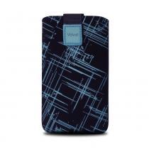 FIXED Univerzální Velvet Blue Stripes 4XL