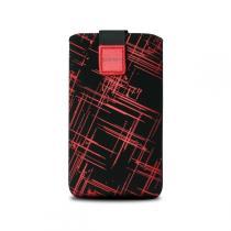 FIXED Univerzální Velvet Red Stripes 5XL