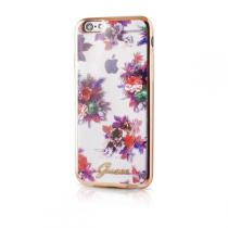 Guess Blossom GUHCP6TRFLG silikoné pouzdro Apple iPhone 6/6S Flower