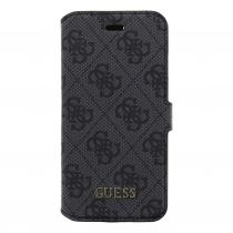 Guess 4G pouzdro flip GUFLBKP74GG Apple iPhone 7 šedé