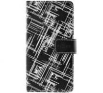 FIXED Opus pouzdro kniha Samsung Galaxy J1 (2016) White Stripes