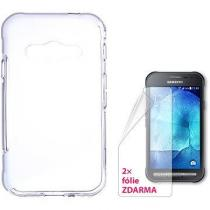 CONNECT IT S-Cover Samsung Galaxy Xcover 3 čiré