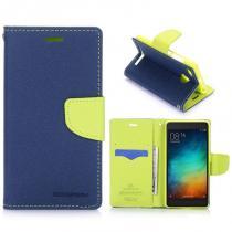 KG pouzdro Wallet Style pro Xiaomi Redmi 3s Green