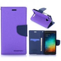 KG pouzdro Wallet Style pro Xiaomi Redmi 3s Purple