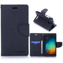 KG pouzdro Wallet Style pro Xiaomi Redmi 3s Black