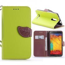 KG pouzdro Wallet Style pro Xiaomi Redmi Note 3/Note 3 Pro Green