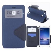 KG pouzdro Wallet Style pro Xiaomi Redmi 3s Dark blue