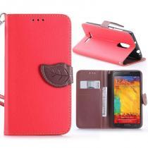 KG pouzdro Wallet Style pro Xiaomi Redmi Note 3/Note 3 Pro Red
