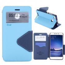 KG pouzdro Wallet Style pro Xiaomi Redmi 3s Blue