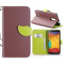 KG pouzdro Wallet Style pro Xiaomi Redmi Note 3/Note 3 Pro Brown