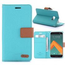 KG pouzdro Wallet Style HTC 10 Mint Green