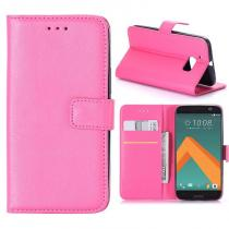 KG pouzdro Wallet Style HTC 10 Rose Red