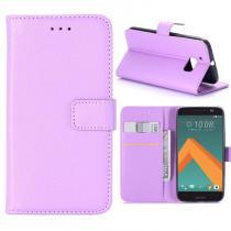 KG pouzdro Wallet Style HTC 10 Purple