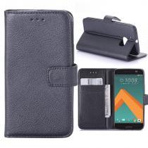 KG pouzdro Wallet Style HTC 10 Black