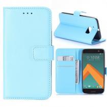 KG pouzdro Wallet Style HTC 10 Blue