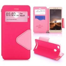 KG pouzdro Wallet Style pro Xiaomi Redmi 3s Pink