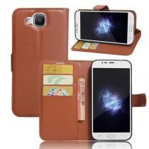 KG pouzdro Wallet Style 2 Doogee X9 Mini Brown