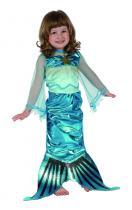 Ploutev mořské panny pro děti - kostým(92-104 cm)