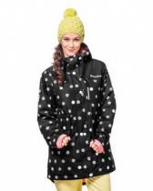 Horsefeathers Sondra Jacket black dots