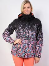 Roxy Jetty Jacket Gradient gradient flowers/true black