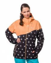 Horsefeathers Coralie Jacket black dots