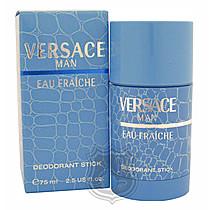 Versace Eau Fraiche Man - tuhý deodorant 75 ml M