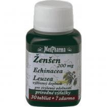 MedPharma Žen-šen + echinacea + leuzea cps. 37