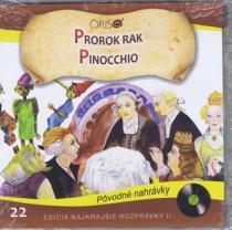 Najkrajšie rozprávky 22- Prorok rak,Pinocchio - Jörg Meidenbauer