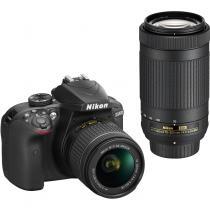 NIKON D3400 + 18-55 mm AF-P VR + 70-300 mm AF-P VR