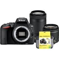 Nikon D5500 + 18-55 mm AF-P VR + 70-300 mm AF-P VR