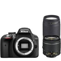 Nikon D3300 + 18-55 mm AF-P + 70-300 mm AF-P