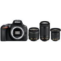 Nikon D5600 + 18-55 mm AF-P VR + 70-300 mm VR + 10-20 mm VR
