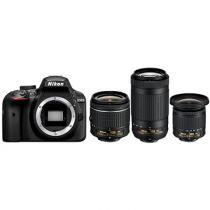 Nikon D3400 + 18-55 mm VR + 70-300 mm VR + 10-20 mm VR