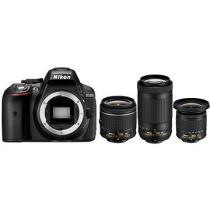 Nikon D5300 + 18-55 mm AF-P VR + 70-300 mm AF-P VR + 10-20 mm VR