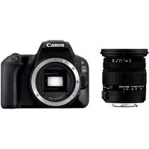 Canon EOS 200D + Sigma 17-50 mm
