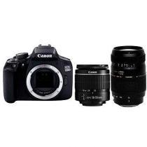 Canon EOS 1300D + EF-S 18-55 mm DC + Tamron 70-300 mm Macro