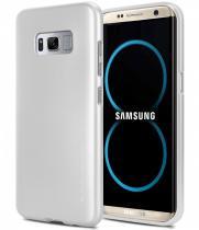 Goospery Mercury Ring 2 Jelly Samsung Galaxy S8 Plus stříbrné