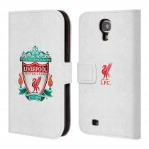Head Case Designs Flipové Galaxy S4 HEAD CASE ZNAK LIVERPOOL FC OFFICIAL WHITE