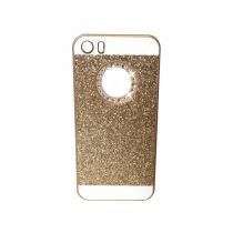 CLIP:ON Blink Glitter iPhone 5/5S/SE Champagne Gold