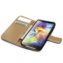 Celly Wally Galaxy S5 PU kůže černé