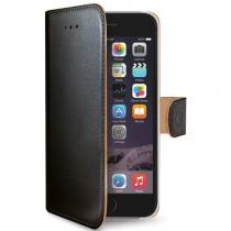 Celly Wally iPhone 6S PU kůže černé