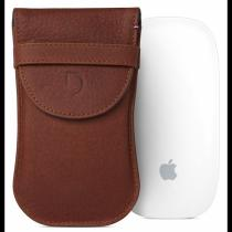 Decoded Leather Pouch D7MMP1CBN brown Hnědá
