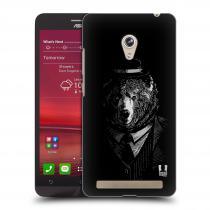 Head Case Designs Asus Zenfone 6 MEDVĚD V KVÁDRU