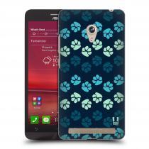 Head Case Designs Asus Zenfone 6 TLAPKY MODRÉ