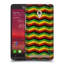Head Case Designs Asus Zenfone 6 RASTA CHEVRON