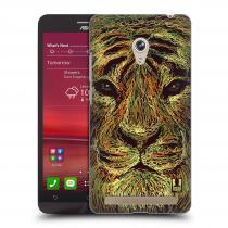 Head Case Designs Asus Zenfone 6 SCRIBBLE TYGR