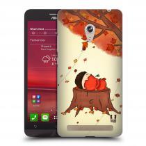Head Case Designs Asus Zenfone 6 PODZIMNÍ JEŽEK
