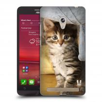 Head Case Designs Asus Zenfone 6 ZVÍDAVÉ KOTĚ